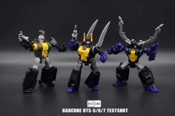 [BadCube] Produit Tiers - Jouet OTS-05 Claymore / OTS-06 Hypno / OTS-07 Kickbutt - aka Insecticons KzvxYXpP