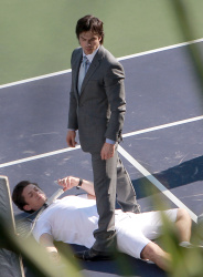 """Ian Somerhalder - Has a Fight Scene on the Set of """"Time Framed"""" 2012.10.21 - 22xHQ OBow6hCC"""