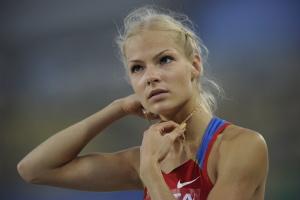 Дарья Клишина, фото 23. Darya Klishina 13th IAAF World Athletics Championship, Daegu, South Korea - 28.08.2011, foto 23