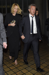 Sean Penn - Charlize Theron and Sean Penn - seen leaving Royal Festival Hall. London - February 16, 2015 (153xHQ) M3H9aevG