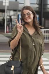 Maia Mitchell - At Narita International Airport in Tokyo 7/15/15