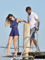 Nina Dobrev with her boyfriend Austin Stowell in Saint-Tropez (July 24) QsxpcIfE
