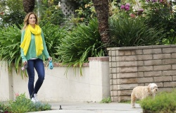 Minka Kelly - out in LA 4/23/13