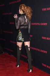 """MEGA POST: Bella Thorne con espectaculares botas en el estreno de """"The Hateful Eight"""" en Los Angeles (7/12/15) YFR6JpD4"""