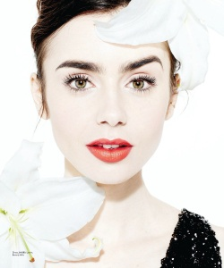 Lily Collins - Angeleno Magazine March Issue 2017