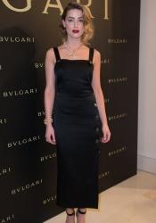 Amber Heard - Bulgari Haute Couture Cocktail Party & Model Show in Paris 7/7/15