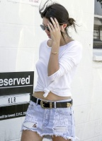 Kendall Jenner - Arriving at a studio in LA 7/27/15