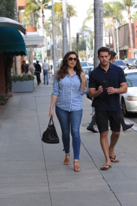 Kelly Brook - With Her Boyfriend in Beverly Hills - February 16th 2017