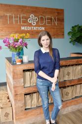 Anna Kendrick - The DEN Meditation Studio Grand Opening in Los Angeles - 01/31/16