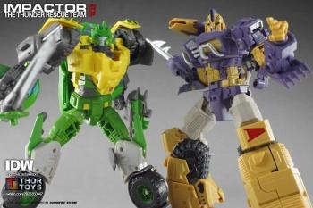[Mastermind Creations] Produit Tiers - Reformatted R-13 Spartan (aka Impactor) des Wreckers + R-14 Commotus (aka Turmoil) - IDW W98VJWuB