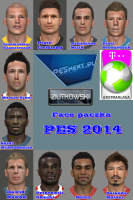 Download PES 2014 Faces by Z [packed 05.06]