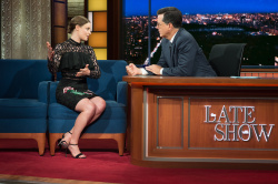 Gillian Jacobs - The Late Show with Stephen Colbert: July 28th 2017