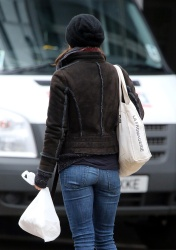 Keira Knightley - out and about in London 2/25/13