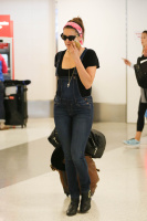 Nina Dobrev at LAX Airport (March 27) LV8Dih4P