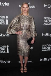 Amber Valletta - HFPA & InStyle Celebrate the 2014 Golden Globe Awards Season in West Hollywood 11/21/13