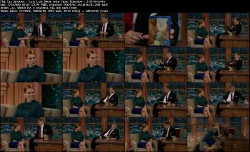 Lea Seydoux - Late Late Show with Craig Ferguson - 2-21-14