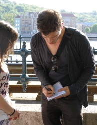 Joseph Morgan - Budapest (Hungary) - April 29, 2012 - 28xHQ 4T8MsyPM