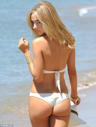 Kimberley Garner - wearing a swimsuit in Cannes - May 2013