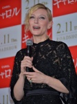 Cate Blanchett - Stage greeting for 'Carol' in Tokyo January 22-2016 x10