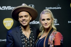 Ashlee Simpson - Guitar Hero Live's Launch Party @ YouTube Space LA in Los Angeles - 10/19/15