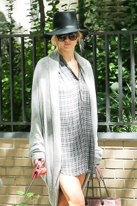Jennifer Lawrence  out with her dog 5