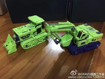 [Toyworld] Produit Tiers - Jouet TW-C Constructor aka Devastator/Dévastateur (Version vert G1 et jaune G2) - Page 3 ZgVh4m06
