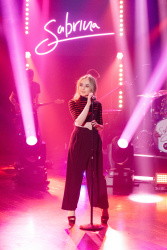 Sabrina Carpenter - The Late Late Show with James Corden: April 17th 2017