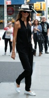 Stacy Keibler - Leaving her hotel 9/09/13