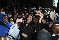 Ian Somerhalder - Arriving at Live with Kelly and Michael in NYC (March 13, 2013) - 18xHQ SHszeSiE