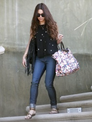 Vanessa Hudgens - heads to Burbank Airport 4/27/13