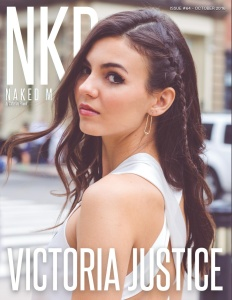 Victoria Justice - NKD Magazine Oct 2016 -