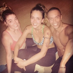 Jessica Alba at Yoga Class - 11/2/14