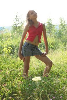 Silver-Jewels Violette - Denim Skirt 2