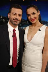 Gal Gadot - Jimmy Kimmel Live: October 19th 2016