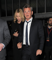 Sean Penn - Charlize Theron and Sean Penn - seen leaving Royal Festival Hall. London - February 16, 2015 (153xHQ) DCU3mzau