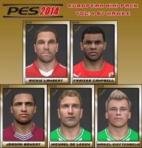 Download PES 2014 European Mini FacePack Vol.4 by Hawke