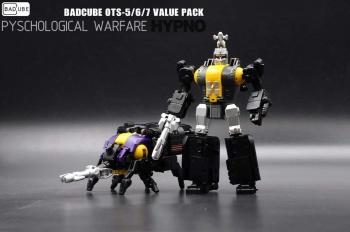 [BadCube] Produit Tiers - Jouet OTS-05 Claymore / OTS-06 Hypno / OTS-07 Kickbutt - aka Insecticons 94UCXYGR