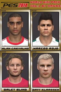 Download PES14 World Mini Pack Vol.1 by Hawke