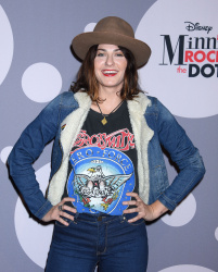 Scout Taylor-Compton - Minnie Mouse Rocks The Dots Art & Fashion Exhibit @ The Paper Agency in Los Angeles - 01/22/16