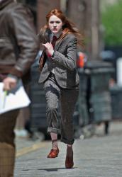 Карен Гиллан, фото 198. Karen Gillan - Set of 'Not Another Happy Ending' in Glasgow, Scotland - 7/20/12, foto 198