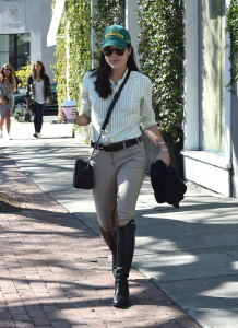 Selma Blair - Getting Coffee With Her Boyfriend in West Hollywood - March 1st