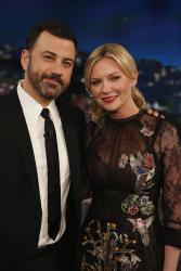 Kirsten Dunst - Jimmy Kimmel Live: March 15th 2016
