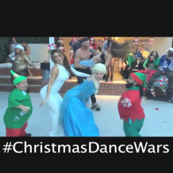 Maria Menounos Dancing Sexy on Christmas