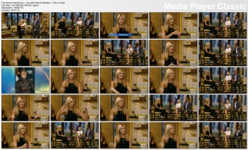 Heidi Klum - Live with Kelly & Michael - 7-30-14