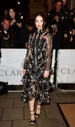 Lily James - Harper's Bazaar Women Of The Year Awards 2015 @ Claridge's Hotel in London - 11/03/15