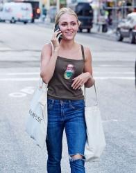AnnaSophia Robb - Shopping in NYC 7/14/15