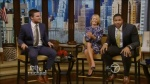 Kelly Ripa | Hot legs | Live with Kelly and Micheal |1-21-14 | Caps and Gifs