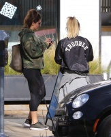 Hilary Duff - Outside a gym in Studio City 12/28/16