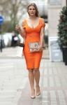 Ashley James - leaving Harvey Nichols in London 3/20/17
