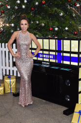Myleene Klass - Samsung Tablet Piano Unveiling @ London's Spitalfields Market in London - 12/10/15